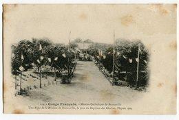 Congo Francais , Mission Catholique De Brazzaville , Le Jour Du Bapteme Des Cloches Paques 1904 - Brazzaville