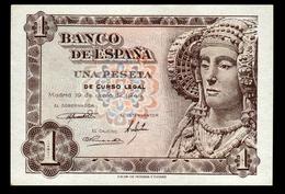# # # Banknote Spanien (Spain) 1 Peseta 1948 UNC # # # - 1-2 Pesetas