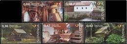 Slovenia 2016, Mills, MNH Stamps Set - Slovenia