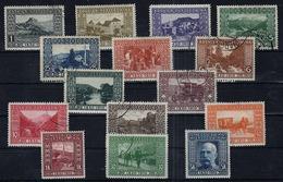 BOSNIE-HERZEGOVINE - N° 45/60 (-59) - 1910 - 80e Anniversaire De L'Empereur D'Autriche FRANCOIS JOSEPH 1er. - Bosnia And Herzegovina