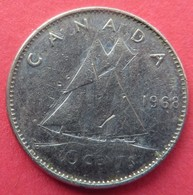 Canada 10 Cents 1968 - Canada