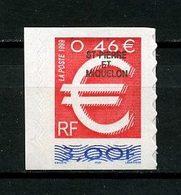 SPM MIQUELON 1999 N° 700 ** Neuf MNH Superbe C 1,80 € Timbre Euro Auto Adhésif - St.Pedro Y Miquelon