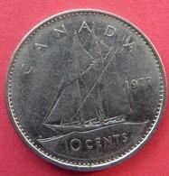 Canada 10 Cents 1977 - Canada