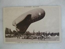 AVIATION - Camp Du Larzac - L'aérostation - Montée En Ballon (animée) - Dirigibili