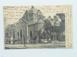 Synagogue 55 Clevlend Ohio USA Synagoge Judaica Jewish Izraelita Zsido Zsinagoga Templom Tempel Sinagogue 1905 Relief - Judaisme