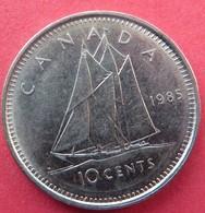 Canada 10 Cents 1985 - Canada