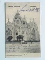 Synagogue 56 Szeged Hungary Synagoge Judaica Jewish Izraelita Zsido Zsinagoga Templom Tempel Sinagogue 1906 - Judaisme