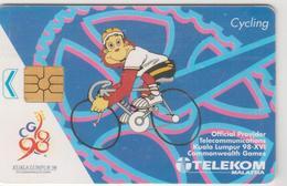MALAYSIA - Kualalumpur 98 Cycling, GEM2 (Black/Grey), 1998, Used - Malaysia