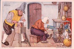 Publicité Chocolat Kohler, Le Petit Poucet, Litho (271) 10x15 - Werbepostkarten