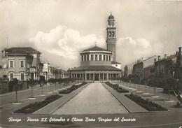 1396 - ROVIGO - Piazza XX Settembre E Chiesa Beata Vergine Del Soccorso. - Rovigo