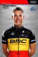CARTE CYCLISME PHILIPPE GILBERT TEAM BMC SERIE BUSTE 2012 - Cycling