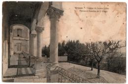 CPA 06 - GRASSE (Alpes Maritimes) - Collège De Jeunes Filles. Perron Et Galerie - Grasse