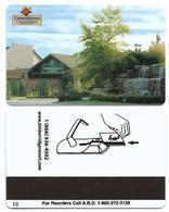 Timber Ridge Lodge And Waterpark, Grand Geneva, U.S.A., Used Magnetic Hotel Room Key Card # Timberridge-1 - Cartes D'hotel