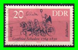GERMANY( D.D.R..) GERMANY DEUTSCHE DEMOKRATISCHE REPUBLIK SELLOS AÑO 1964 ARTISTAS Y SUS OBRAS - Oblitérés