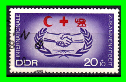 GERMANY( D.D.R..) GERMANY DEUTSCHE DEMOKRATISCHE REPUBLIK SELLOS AÑO 1966 CRUZ ROJA - Oblitérés