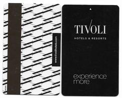 Tivoli Hotels, Portugal & Brazil, Used Magnetic Hotel Room Key Card # Tivoli-3 - Cartes D'hotel
