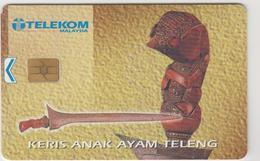MALAYSIA - Keris Anak Ayam Teleng, Siemens - S5 (Module 33), Used - Malaysia