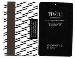 Tivoli Hotel, Sao Paulo, Brazil, Used Magnetic Hotel Room Key Card # Tivoli-4 - Cartes D'hotel