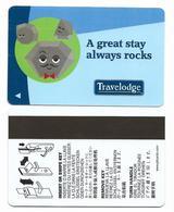 Travelodge Hotels, U.S.A., Used Magnetic Hotel Room Key Card # Travelodge-2 - Hotelkarten