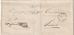 Thurn Und Taxis / 1842 / Vorphila-Briefhuelle K1 CASSEL (BK99) - Germany