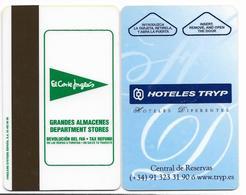 Tryp Hotels, Spain, Used, Magnetic Hotel Room Key Card, # Tryp-1 - Hotelkarten