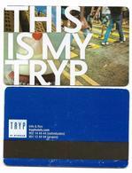 Tryp Hotels, Spain, Used, Magnetic Hotel Room Key Card, # Tryp-34 - Hotelkarten