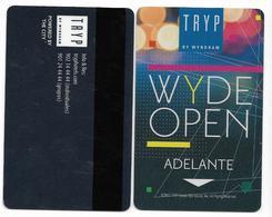 Tryp Hotels, Spain, Used, Magnetic Hotel Room Key Card, # Tryp-35 - Hotelkarten