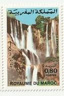 Maroc. Timbre De 1983. Yvert Et Tellier N° 955. Cascades D'Ouzoud. - Morocco (1956-...)