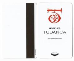 Hoteles Tudanca, Burgos, Spain, Used Magnetic Hotel Room Key Card # Tudanca-1 - Cartes D'hotel
