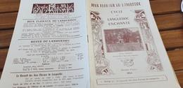 POESIE /JEUX FLORAUX DU LANGUEDOC  1954 /CYCLE  DU LANGUEDOC ENCHANTE /VILLA CHARCOT LAMALOU LES BAINS - Books, Magazines, Comics