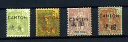 Canton Nº 46/49.  Años 1906-1908 - Nuevos