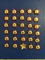 BIG CHANCE 30 USSR LENIN  PINS - Badges