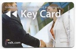 Van Der Valk Hotel, Volendam, Netherlands, Used Magnetic Hotel Room Key Card # Valk-4 - Cartes D'hotel