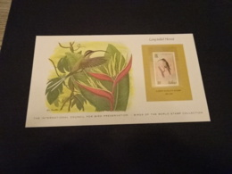 EP46 - Birds Of The World Stamp Collection -  Belize - Long-tailed Hermit - Colibris