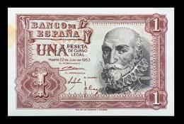 # # # Banknote Spanien (Spain) 1 Peseta 1953 UNC # # # - 1-2 Pesetas