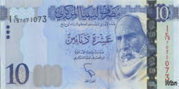 Libya 10 Dinars (P82) 2015 -UNC- - Libië