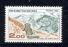 Andorra -Franc 1985 Turismo Y=338 E=359 (**) - Nuevos