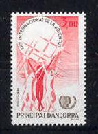 Andorra -Franc 1985 A. Juventut Y=341 E=362 (**) - Nuevos