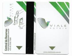 Viale Hotels, Brazil, Used  Magnetic Hotel Room Key Card # Viale-1 - Hotelkarten