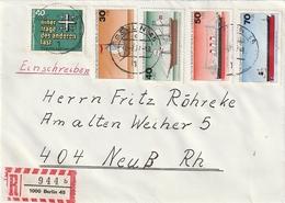 "Berlin / 1974 / Mi. 544-547 ""Schiffe"" U.a. Auf Reco-Brief Ex Berlin (BL14) - [5] Berlijn"