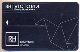 Hotel Victoria, Benidorm, Alicante, Spain Used Magnetic Hotel Room Key Card, # Victoria-4 - Hotelkarten