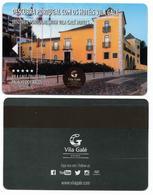 Vila Galé Hotel Palacio Dos Arcos, Lisbon, Portugal, Used Magnetic Hotel Room Key Card, # Vilagggale-4 - Cartes D'hotel