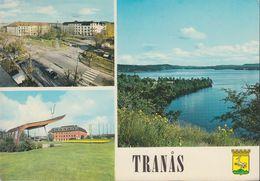 Schweden - Tranås - Views - Cars - Nice Stamp - Suecia