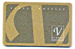 Vincci Hoteles, Spain, Used Magnetic Hotel Room Key Card #  Vincci-1 - Cartes D'hotel