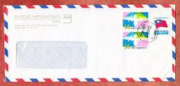 Luftpost, Flugpost U.a., Deutsches Wirtschaftsbuero Taipei 1987? (94476) - Briefe U. Dokumente