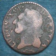 M_p> Francia 1/2 Sol 1789 Ludovico XVI - 1774-1791 Lodewijjk XVI Van Frankrijk