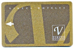 Vincci Hoteles, Spain, Used Magnetic Hotel Room Key Card #  Vincci-2 - Hotelkarten