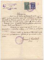 25.06.1940. KINGDOM OF YUGOSLAVIA,BOSNIA,MOSTAR,SERBIAN ORTODOX CHURCH AND HRVATSKA BANOVINA REVENUE STAMP - Bosnia And Herzegovina