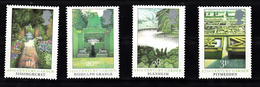 Groot-Brittannie 1983  Mi Nr 962 - 965 , Tuinen In UK, Garden, - 1952-.... (Elisabetta II)