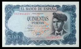 # # # Banknote Spanien (Spain) 500 Pesetas 1971 UNC # # # - [ 3] 1936-1975: Regime Van Franco